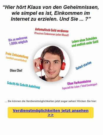 Simpel und einfach Geld verdienen im Internet